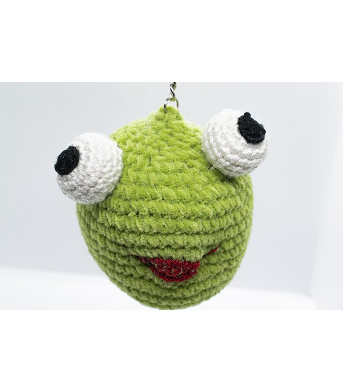 Breloc Frog funny handmade